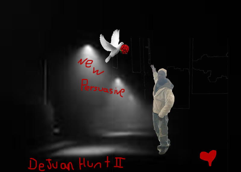 DeJuan Hunt II's imagination and creativity, New Persuasive Art