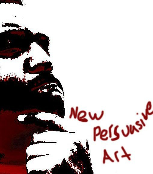"""New Persuasive Art,"" by DeJuan Hunt II.  This photograph is courtesy of Dejaun Hunt II."