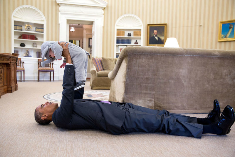 This photograph of President Obama was taken by White House photographer Pete Souza and is courtesy of petapixel.com