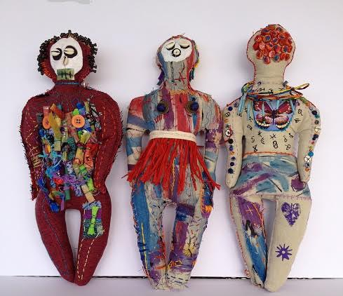 """Voodoo dolls,"" by Gailene McGhee St. Amand. This photograph is courtesy of Gailene St. Amand."