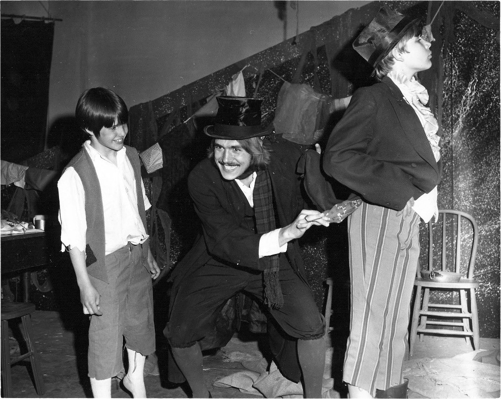 """Jan Nelson in """"Oliver."""" This photograph is courtesy of Jan Nelson."""