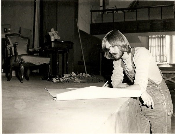 """Jan Nelson's set design for """"The Chalk Garden."""" This photograph is courtesy of Jan Nelson"""