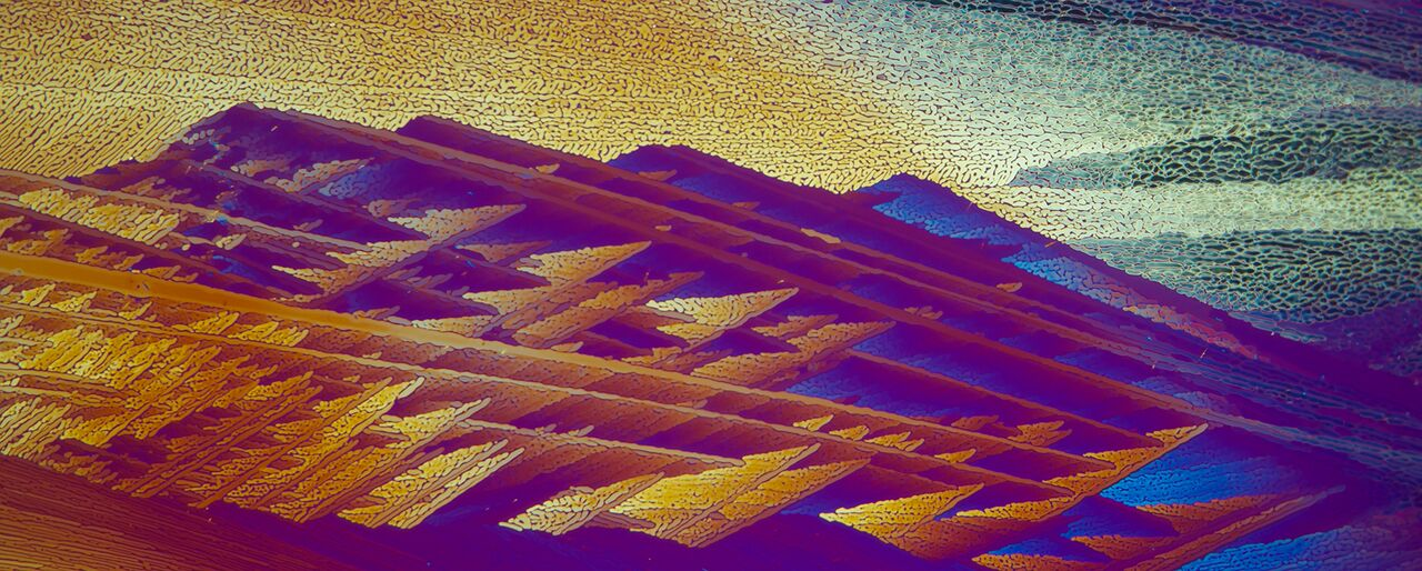"""""""Mountains ,"""" by Carol Roullard. This photograph is courtesy of Carol Roullard."""