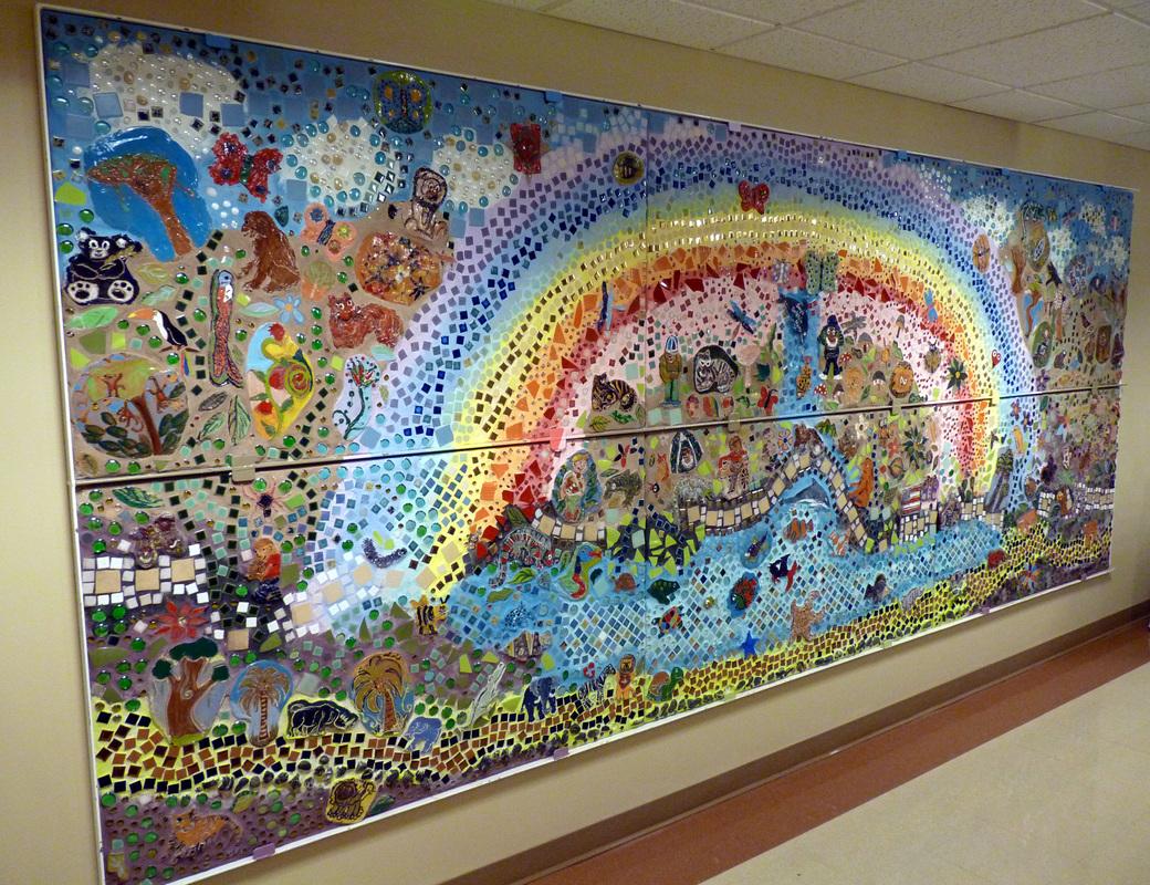 Gilda Oliver's community art