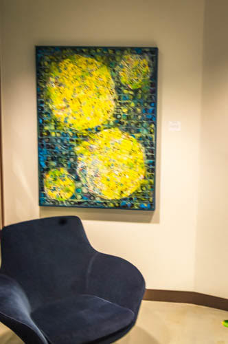 """""""Worlds Apart,"""" Mati Russo Art, Sotheby's Pasadena. This photograph is copyrighted to Brenda Haroutunian"""