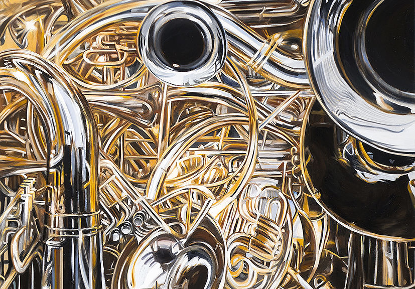 """""""Cacophony,"""" by Allan Gorman"""